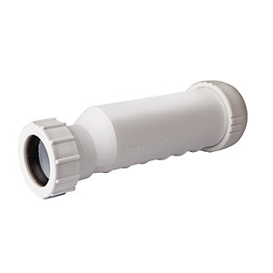 Wavin Osma HepVO Self-Sealing Waste Valve White 40mm CV1 WH
