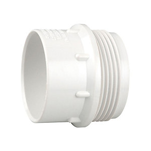 Wavin Osma V-Joint 32mm S Trap Seal 76mm White