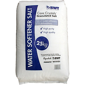 BWT Care Crystals Water Softener Granular Salt 25kg