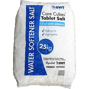 BWT Care Cubes Water Softener Tablet Salt 25kg 25TAB