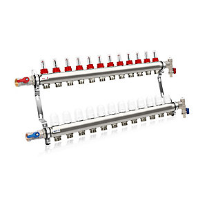 Solfex 12 Circuit Manifold Kit UFH-MAN-12CT