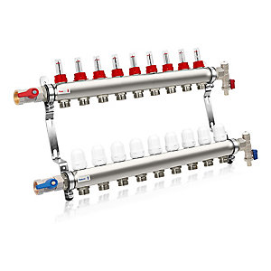 Solfex 9 Circuit Manifold Kit UFH-MAN-09CT