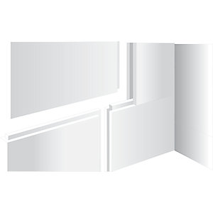 Kudos Aqua4Ma 10 mm Wet Room Panel Pack Tongue & Groove 1200 x 800 mm (Floors) WRAQ103