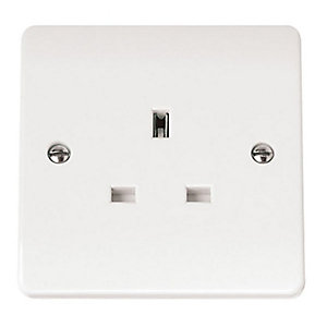 Mode 13A 1 Gang Unswitched Socket - CMA030