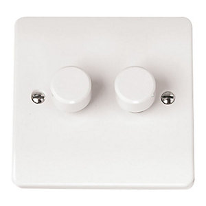 Mode 2 Gang 2 Way Dimmer Switch - CMA146