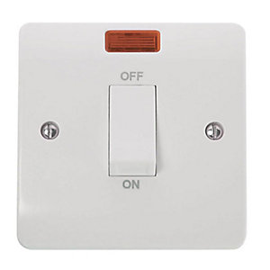 Mode 45A 1 Gang DP Switch with Neon - CMA501