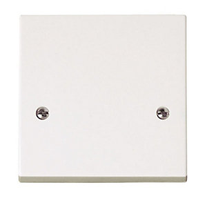 Polar 1 Gang 45A Cooker Connection Plate - PRW215
