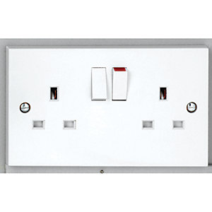 Vimark 13A Double Socket - V1209SDP