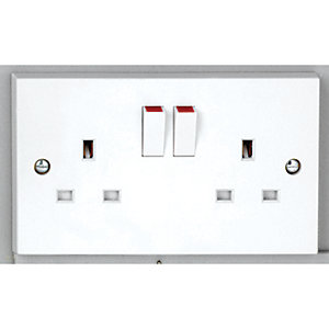 Vimark 13A Double Socket - V1209S