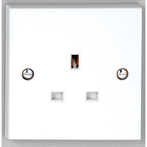 Vimark 13A Single Unswitched Socket - V1206