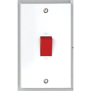Vimark 50A Tall Double Pole Switch - V1301