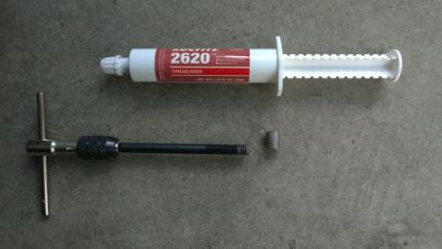 loctite 2620 and helicoil