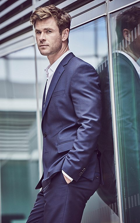 hugo boss model
