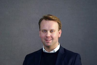 Øyvind Knutsen, Produkt og PR-sjef i Hyundai Motor Norge. Foto.