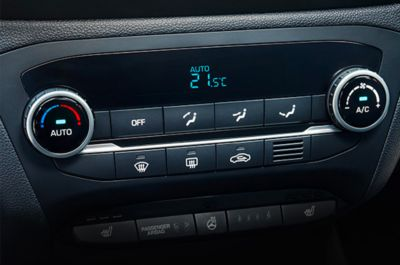 The convenient USB charger on the new Hyundai i20 Active.