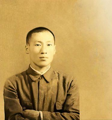 Młody Chung Ju-yung, założyciel firmy Hyundai