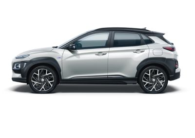Image of the Kona Hybrid in chalk white color.