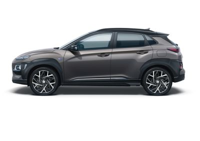 Image of the Kona Hybrid in galactic grey color.