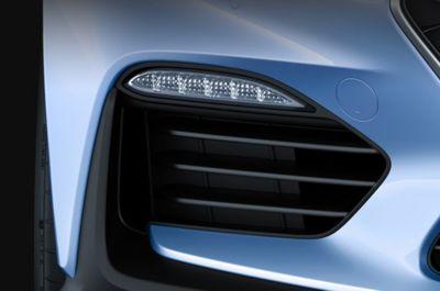 El Hyundai i30 N incluye un alerón negro brillante.