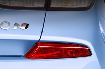 El Hyundai i30 N incluye un agresivo parachoques trasero.