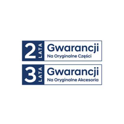 Logo gwarancji na oryginalne części