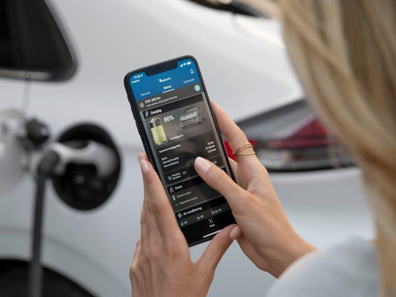 Carica la tua auto con un click.