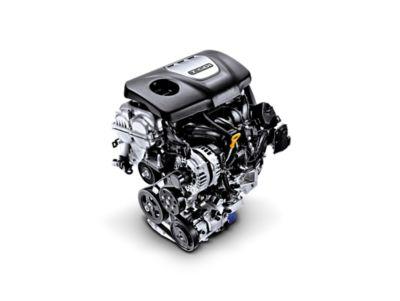 Illustrazione dei quattro propulsori ad alta efficienza con opzione benzina o diesel