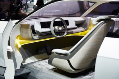 The interior of Hyundai's full electric concept car: 45.