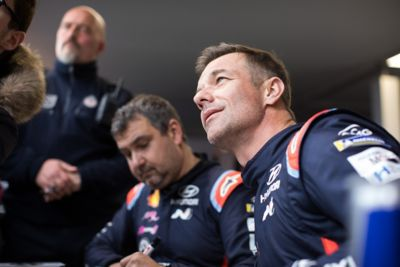 Kierowca i pilot Hyundai Motorsport Sébastien i Daniel