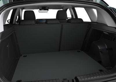 Bagageruimte van de Hyundai BAYON, de nieuwe, compacte crossover-SUV.