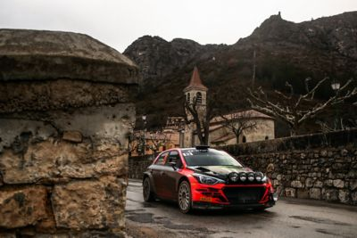 Rallye Monte Carlo and the Hyundai i20 Coupe WRC is on the way.