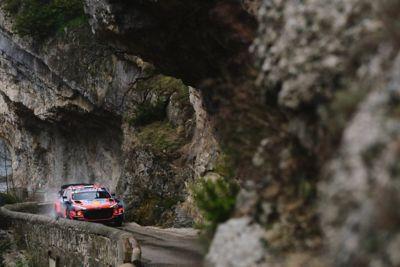 Rallye Monte Carlo and the Hyundai i20 Coupe WRC.