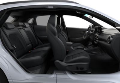 Look inside the Hyundai KONA N hot SUV