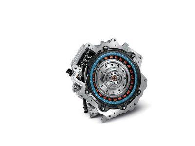 Immagine del motore elettrico di IONIQ Hybrid