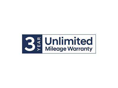 Hyundai 3 year unlimited mileage warranty.