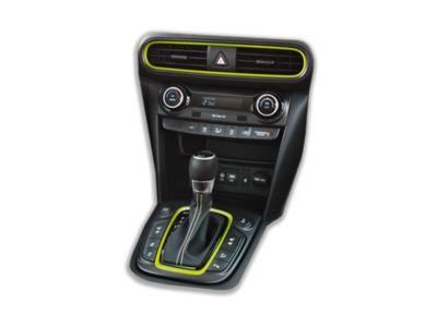 Immagine dei dettagli interni personalizzabili di Hyundai KONA