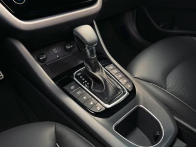 Image showing the center console of the new Hyundai  IONIQ Plug-in.