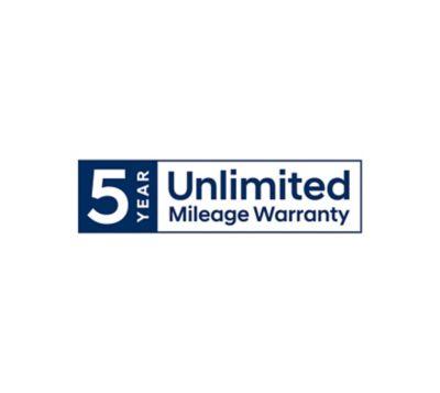 Hyundai 5-Year Unlimited Mileage Warranty.