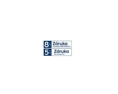 Logo 5leté záruky Hyundai na neomezený počet kilometrů.