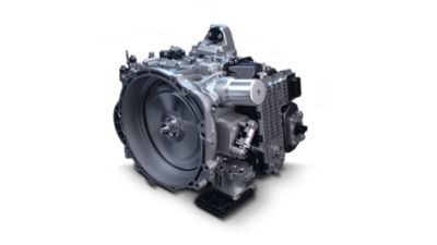 The new 8-speed wet double-clutch transmission of the new Hyundai Santa Fe 7 seat SUV.