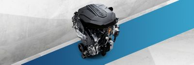 Smartstream petrol and diesel technology of Hyundai.