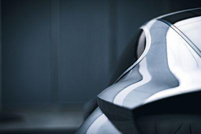 Błyszcząca karoseria samochodu Hyundai