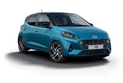 Hyundai i10 Aqua Turquoise.