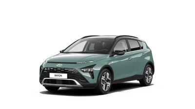 Předoboční pohled na Hyundai BAYON