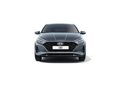 Close-up of the all-new Hyundai i20's front right Daytime Running Lights