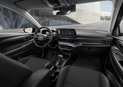 Hyundai i20 dashboard interieur voorin.