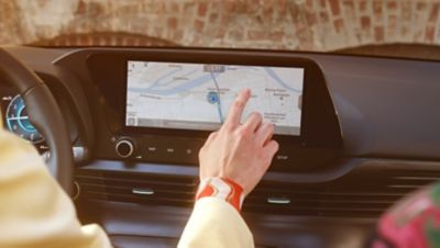 The Hyundai Bluelink® Connected Car Services: Connected Routing.