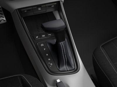 De automaat met dubbele koppeling in de Hyundai BAYON, de nieuwe, compacte crossover-SUV.