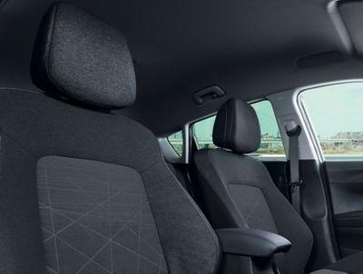 Enorme hoofdruimte in de Hyundai BAYON, de nieuwe, compacte crossover-SUV.