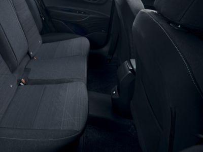 Uitstekende beenruimte in de Hyundai BAYON, de nieuwe, compacte crossover-SUV.